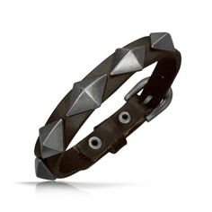 Bling Jewelry Pyramid Leather Cuff Bracelet with Buckle 8 inch Bling Jewelry. $19.99. Buckle closure. Fits 6in to 8in Wrist. Metal Accents. Cuff Bracelet. Comfortable Leather. Save 52%!