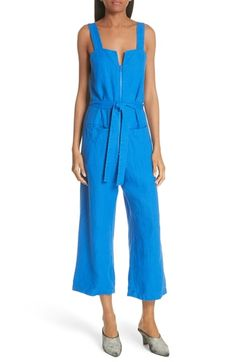 026a36d780bd Rachel Comey Bend Linen Jumpsuit Rachel Comey