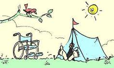 kamperen en vakantie voor motorisch gehandicapte kinderen, deel 1