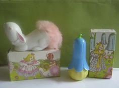 Bunny powder puff by Avon
