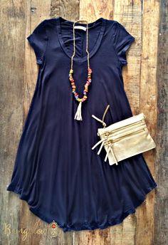 Ambrose Dress – Multiple Colors – Bungalow 123 – 4 - Luxe Fashionably Ideas- New Trends - Luxe Fashionably Ideas- New Trends Cute Dresses, Casual Dresses, Casual Outfits, Cute Outfits, Casual Wear, Comfy Dresses, Trendy Dresses, Fall Outfits, Summer Outfits
