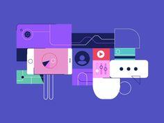 Adobe - Marketing Cloud by Loris F. Alessandria #Design Popular #Dribbble #shots