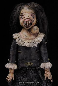 'Malva' – Exquisite Monster Art Doll by Shain Erin.