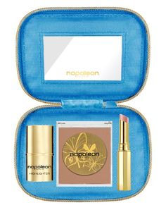 Napoleon Perdis Limited-Edition Slim Aarons Collection - Champagne Days Highlighter, Matte Bronze, Créme Lipstick Entitled (Nude)