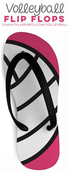Check out our NEW volleyball flip-flops! They're the perfect addition to your summer wardrobe, and a fun way to show off your #volleyball pride all summer long