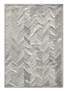 gray cowhide chevron rug. i will take one of those please!! :D