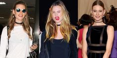 From simple & DIY to sexy and studded, the choker is surprisingly versatile