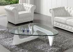 mesa de centro moderna en madera solida y vidrio ref noguchi