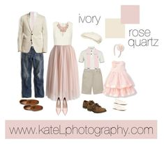 Pantone Color of the Year: Rose Quartz // family outfit inspiration: what to wear for a family photo session in the spring or summer. Created by Kate Lemmon, www.kateLphotography.com