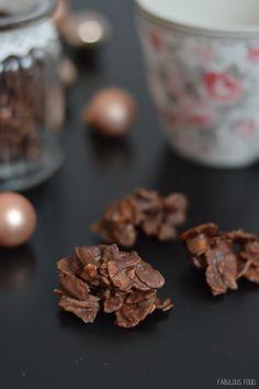 Weihnachtskekse. weihnachtliche Schoko-Crossies  Christmas Cookies