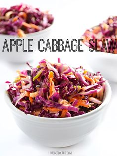 Apple Cabbage Slaw - Budget Bytes
