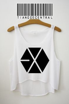 EXO Logo Crop Top | Tiangge Central