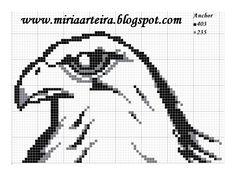 Gaviao do corinthians Especie Animal, C2c, Cross Stitch Patterns, Memes, Birds, Academia, Eagles, Hobbies, Tattoo
