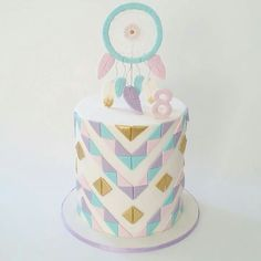 Dream catcher cake by Iced Creations