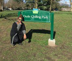 Dude Chilling Park, Vancouver  DJ Ghetto Xenomorph @HE_VALENCIA     HELL YEAH
