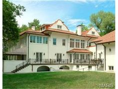 Featured in THE WEEK magazine as One of the most beautiful stucco homes in America. National Register Manor House located in the beautiful Hampton Park neighborhood.  |  1108 Hillside Drive, St Louis, MO 63117