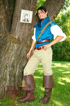 Flynn Rider Adult A Men's Custom Costume Vest by BbeautyDesigns