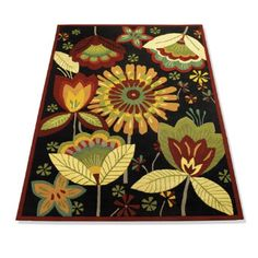 This rug is from the Grandin Road catalog.
