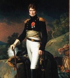 Auguste François Marie de Colbert-Chabanais, Baron de Colbert et de l'Empire (1777 - 1809). Général de brigade dans la Cavalerie Impériale (10e. Rgt. Chasseurs), Chevalier de l'Ordre de la Légion d'Honneur et de l'Ordre de la Couronne de Fer. Napoléon I le fit baron en 1808. Il était le 5e. fils du comte de Colbert-Chabanais et épousa Marie Geneviève de Canclaux, fille d'un général et sénateur d'Empire.