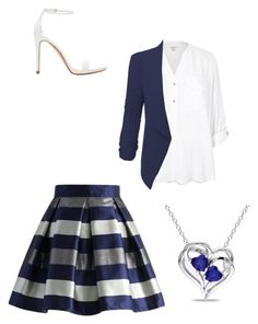 """""""Play"""" by projectalice5 on Polyvore featuring Chicwish, River Island, LE3NO, Zara and Miadora"""