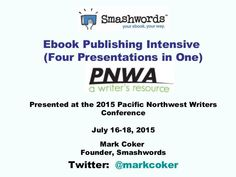 Learn how to publish an ebook like a professional.  This presentation bundles four ebook publishing presentations in one.   Learn how to self-publish an ebook … #KindleSelfPublishing