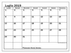 12 Fantastiche Immagini Su Calendari Mensili Nel 2018