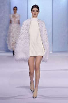 Couture Fall 2016 Trend: Feathers | Ralph & Russo Couture [Photo: Giovanni Giannoni]