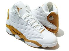 the latest a1059 54bb5 Air Jordan 13 (XIII) Retro - Wheats (White   Wheat)   KicksOnFire.com