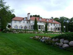 Wrigley mansion on Lake Geneva