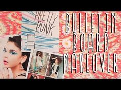 Apartment Decor DIY: Bulletin Board Makeover!