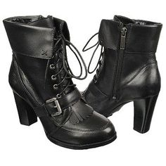 Women's Harley Davidson Mantoi Black Shoes.com