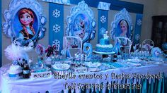 Decoración de Frozen, una aventura congelada. Sheylla eventos y fiestas/facebook Informes Imbox. Correo: sheylla_eventos@hotmail Telf. 5741436-944937319 Lima-Perú