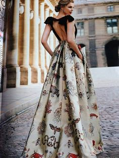 Bees and Bugs/karen cox....Valentino gown