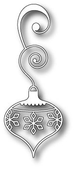 "Lucca Ornament - $9.99  	 Won't the Lucca Ornament be perfect on your Christmas cards???  Approximately 1.7"" x 4.3"""