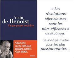 Alain de Benoist philosophie