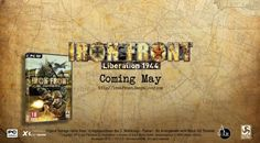 http://www.gamesta.com/iron-front-calls-in-the-wehrmacht-in-this-trailer/    Gamesta.com has the latest trailer for Iron Front - Liberation 1944. The Germans are back, in digital form, to rule the great skies in this PC exclusive, coming May 25, 2012.