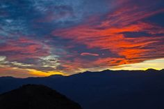 Dante's View at Sunset - Death Valley National Park, California