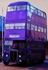 double decker purple...