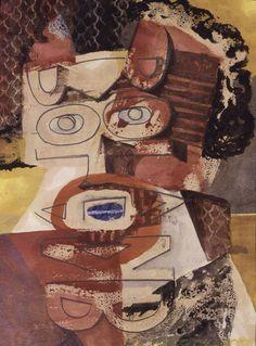 ROLAND PENROSE (1900-1984) / SELF PORTRAIT (1947)