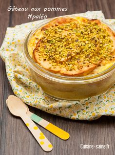 gâteau pommes paléo