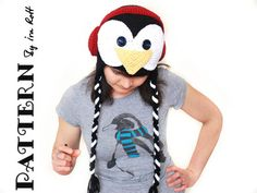 Linux Penguin Hat - Crochet PDF Pattern