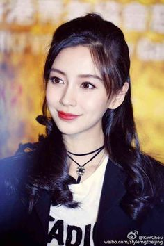 """Angela Yeung Wing, better known by her stage name Angelababy, is a Chinese model, actress, and singer based in Hong Kong. Her stage name came from the combination of her English name """"Angela"""" and her nickname """"Baby"""" Asian Woman, Asian Girl, Prity Girl, Angelababy, Chinese Actress, Beautiful Asian Women, Female Images, Cute Faces, Woman Crush"""