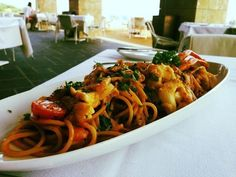 """Soon time for Lunch ? Try out our delicious plate, Lobster with Pasta, at """"Impressions"""" Restaurant Hotel Spa, How To Memorize Things, Plate, Lunch, Restaurant, Meals, Dinner, Ethnic Recipes, Food"""