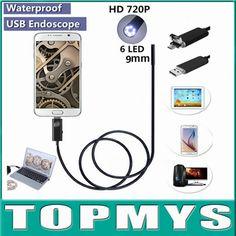 16.99$  Buy here - http://ali5rb.shopchina.info/go.php?t=32724402354 - 2 in 1 Micro USB Endoscope Inspection camera TM-HTA9 waterproof 0.3MP camera Dia 9MM 6LED andriod phone pinhole Camera snake cam 16.99$ #buymethat