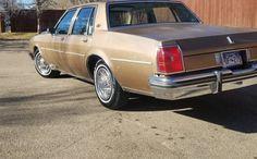 Another Grandma's Car: 1982 Oldsmobile Delta 88 Royale Gold Cars, Full Size Sedan, American Classic Cars, Sedans, Us Cars, Police Cars, Easy Recipes, Detroit, Wheels