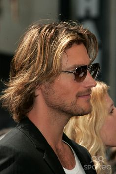 Gabriel Aubry at the ceremony honoring Halle Berry with the 2,333rd star on the Hollywood Walk of Fame