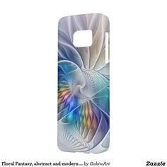 Floral Fantasy Abstract And Modern Fractal Art Samsung Galaxy S7 Case #floral #fantasy #abstract #and #modern #fractal #art #samsung #galaxy #s7 #case