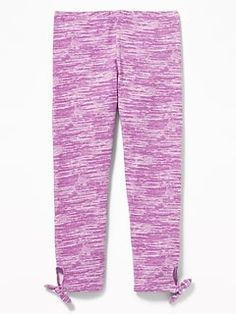 Bottoms Generous Circo Toddler Girls Jeggings Sz 4t Purple Metallic Thread Stretch Pull-on Pants Clients First