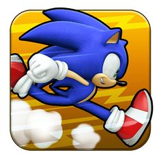 Sonic Runners App Icon from the official artwork set for #SonicRunners on iOS and Android. #Sonic. #SonictheHedgehog http://sonicscene.net/sonic-runners