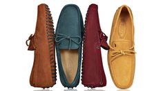 Tods Gommini Leather Driving Mocassin